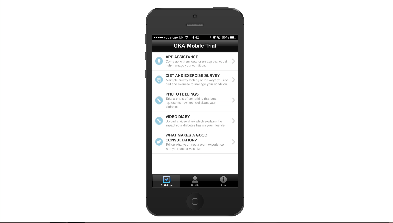GKA Mobile for Healthcare Market Research